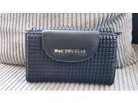 Black wallet multifunction Mac.D