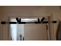 Ultrasport Pull-up Bar Upper Body Trainer without Screws for Use on the Door or on the Floor