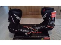 RST TRACKTECH EVO race boots brand new in box with tags