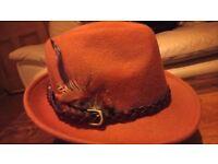 Ladies 100 %wool stylish hat