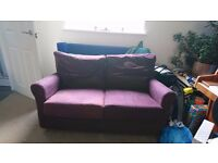 2 matching Ikea sofas (approx 4/5 years old). 2 seater and 3 seater sofa bed.