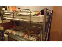 Kids single bunk bed
