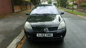 Renault Clio, 1.6, 2002, MOT Nov 2017