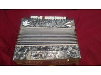 VINTAGE PAOLO ANTONIO ACCORDION MADE IN SAXONY GERMANY AVAILABLE FOR SALE