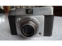 Ilford Sportsman Camera with Leather Case