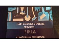 Cleaning and ironing service