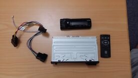 Sony car radio / USB port / with cables / Remote control