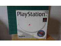 Sony Playstation (Boxed), 2x Analogue controllers, Multitap and 32 Games