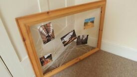 Wooden Frame For Picture Display
