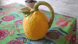 Lemon shaped jug