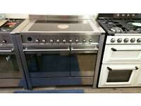 Smeg 100cm induction range cooker used twice