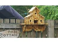 Large triple bird house
