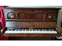 Upright piano with stool - John Spencer & Co | Murdoch, Murdoch & Co