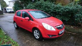 A very low mileage Corsa 1.2 Energy a/c 5dr with a FSH