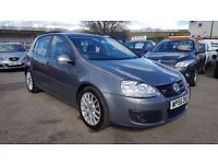 VW GOLF 2.0 GT 140 TDI AUTOMATIC DSG 5 DOOR 2007 / EXCELLENT CONDITION / 12 MONTH MOT / HPI CLEAR