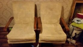 Parker Knoll Westbury two seater with two armchair