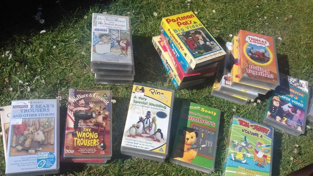 Childrens Vhs Videos Free In Beccles Suffolk Gumtree