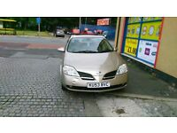 brilliant Nissan primera 1.8 petrol, satnav,parking sensors,reliable car, first to will buy.