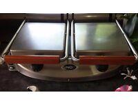 Comercial dual grill Unox