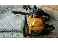 PETROL CHAINSAW AND PETROL TRIMMER