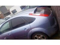 Ford Focus 1.8 Zetec Climate 2007 5dr* 9-Mot&Tax * Spares or repair # Breakin