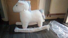 my1styears White Unicorn Rocker