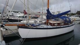 GORGEOUS HILLYARD. 35' CLASSIC MOTORSAILER £19500 just reduced