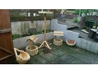 Wishing wells hanging planters and bird tables made 2 order