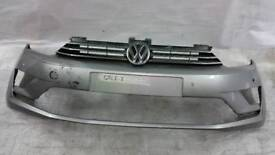 Vw golf plus sv sportvan front bumper with grill