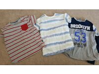 Boys 8-9 years clothes bundle mainly tops