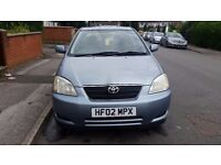 Toyota Corolla 1.6 petrol Automatic with full service histroy, full mot
