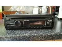 Sony xplod car stereo with aux