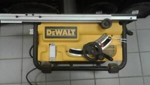 Dewalt Table Saw (1) (#31029) (SR917481) We Buy and Sell New and Used Tools!