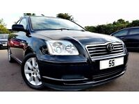 2005 TOYOTA AVENSIS 1.8 VVTI PETROL, 3 MONTH WARRANTY, EXCELLENT CONDITION, PART EXCHANGE WELCOME