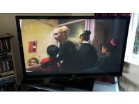 50 inch LG flat screen tv for sale £150 or nearest offer