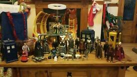 Dr Who Large Lot of Figures and Playsets