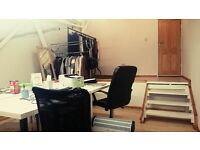 25 square meters OFFICE / CREATIVE WORK SPACE / STUDIO AVAILABLE IN LIMEHOUSE / MILE END AREA
