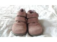 Pink kickers shoes size 25