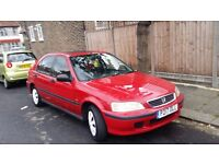 For sale Honda civic 1.4 automatic,red,4 door ,1 Year Mot ,good runner