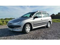 Swap Peugeot 206 Estate For Hatchback.