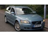Volvo V50 estate 135k miles 1.6 diesel £20 tax
