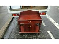 Very nice mahogany wood dressing cabinet £45 delivered