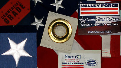 Koralex Usa Flag - Commercial Grade- Valley Forge American Flag 4'x6' sewn Koralex II™ made in USA