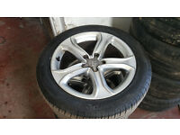 "Audi A5 3x 17"" Alloys Wheels with Tyres 5x112"