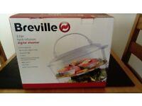 BREVILLE 3 TIER HERB INFUSION DIGITAL STEAMER