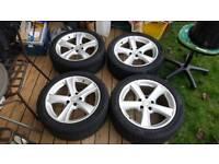 Vauxhall Alloy wheels 5 x 108