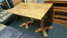 Table pine wood