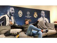 Genuine champions league final canvas Gareth bale Higuain