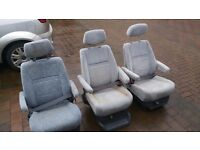 Captains seats, campervan seats, possibly out of toyota previa,