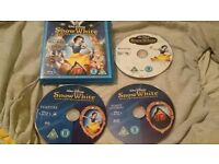 Snow White And The Seven Dwarfs Triple Play Blu ray